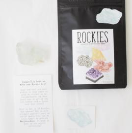 Rockie Fluoriet met sticker