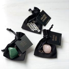 WINTER MAGIC - black giftbag