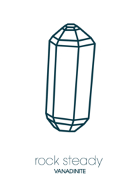 Rock steady / Vanadinite