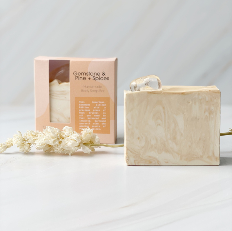 Rock Crystal  - Pine&Spices - Soap Bar