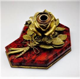 Inktpot roos