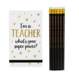 Notitieblok Teacher