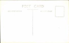 Vintage ansichtkaart Kantoorbediende aan Telefoon uit 1938