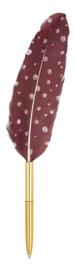 Verenpen (ballpoint) Stippen Roze