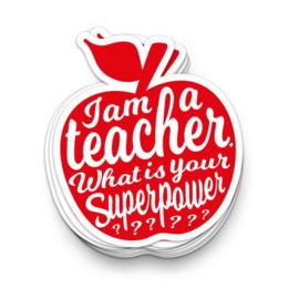Sticker I'm a Teacher