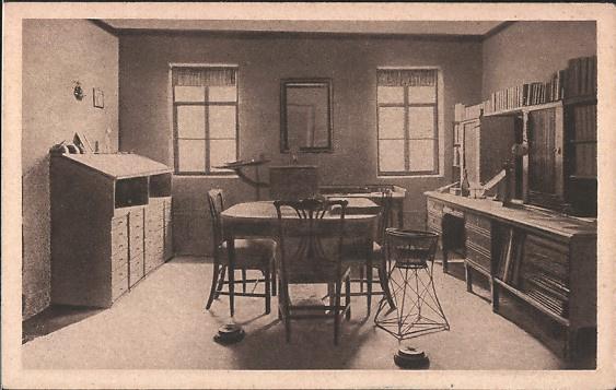 Ansichtkaart Goethes Arbeitszimmer