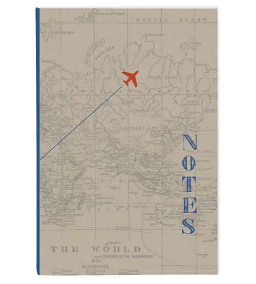 Notitieschrift Plane, geruit