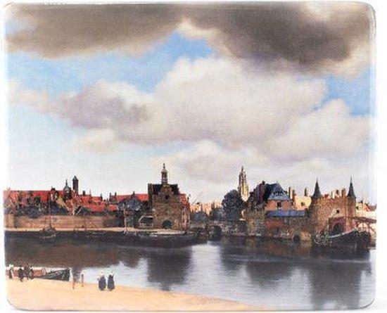 Muismat Vermeer Gezicht op Delft (1660-1661)