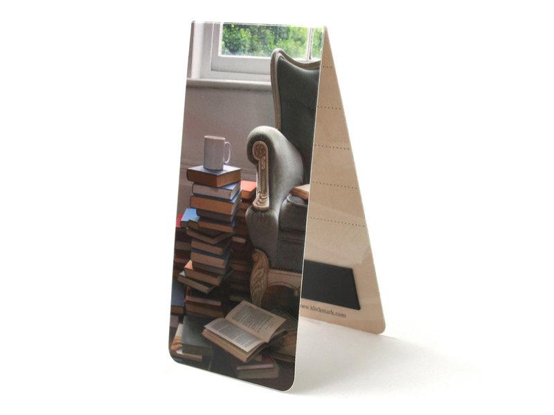 Magnetische boekenlegger Stoel