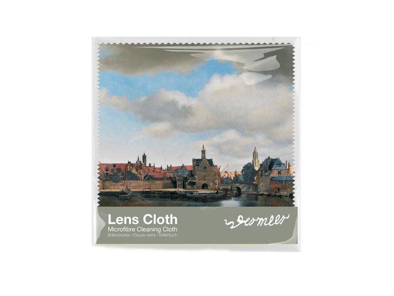 """Microfiber brillendoekje """"Gezicht op Delft"""" Johannes Vermeer 1660-1661"""
