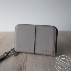 Portemonnee licht grijs klein