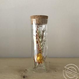 Flesje droogbloemen 6