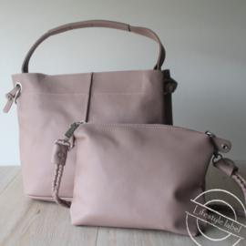 Bag in Bag licht roze