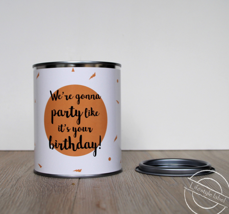 We're gonna party like it's your birthday!