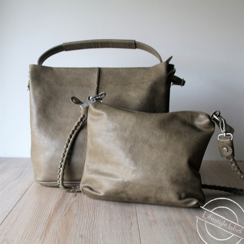 Bag in Bag groen