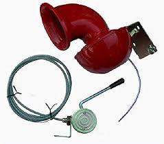 Bullhorn met toon kabel