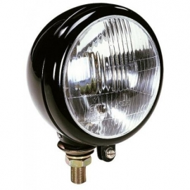 Koplamp 160 mm zwart