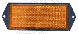 Reflector oranje rechthoekig