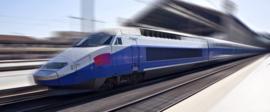 Trein hoorn TGV 24 Volt