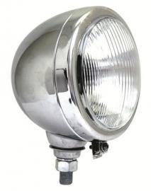 koplamp 160 mm chroom