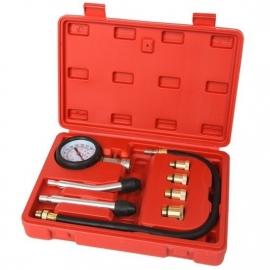 Compressie meter voor benzinemotoren 9-delig