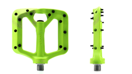 Kona Wah Wah 2 composite pedals Small LIME GREEN