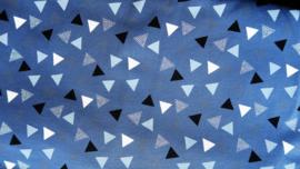 Haarband Blue Triangle