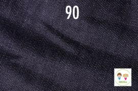 Sjaal jeans zwart