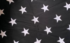 Maat 4 || Zwart met grote witte sterren