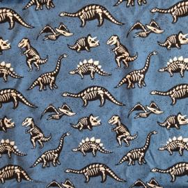 Sjaal Dino Blauw