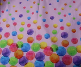 Sjaal Water Colour Dots