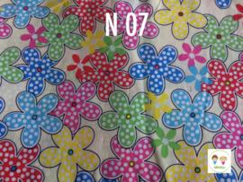 Maat 2 ||S40  Bloemen met stippen