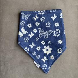 Sjaal Jeans Butterflies