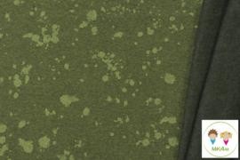 Sjaal melange splash groen