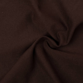 Scrunchie donkerbruin