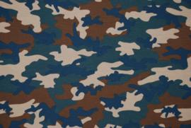 Scrunchie Camouflage Forrest