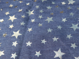 Sjaal Denim Gold Star