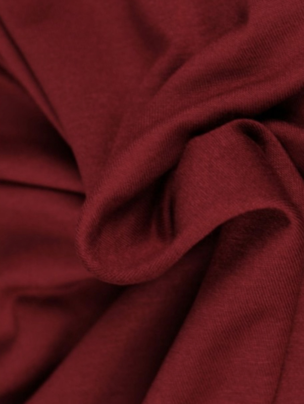 Sjaal bordeaux rood