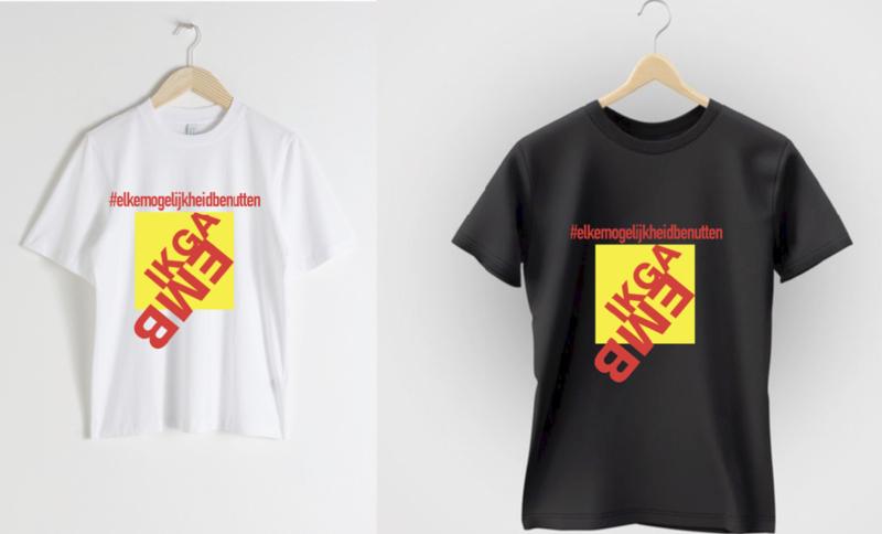 """KINDER T-shirt """"Ik ga EMB"""""""