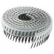 Doos a 6.000 Coilnagels Flat 2.20 x 50mm Ring RVS LENSKOP PLASTICBAND