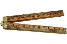 duimstok 50 cm hout schuil