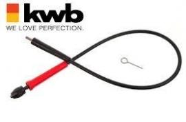 KWB flexibele boor as
