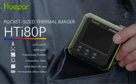 Huepar HTi80P Warmtebeeld camera van 10-400 graden. incl. sd kaart
