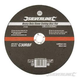 Silverline 125 Afbraamschijf voor metaal 6mm dik