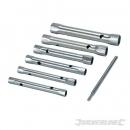 Silverline 6-delige pijpsleutel set.