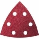 Driehoekschuurpapier korel 40 zeer grof
