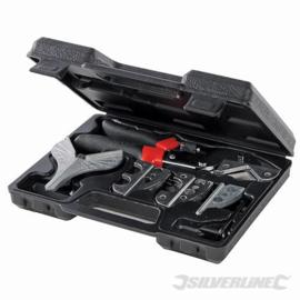 Silverline  6 Delige Plintenschaar in koffer
