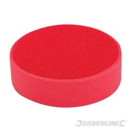 Klittenband schuim polijstkop kleur rood extra zacht