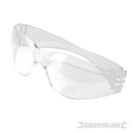Doorlopende veiligheidsbril transparant