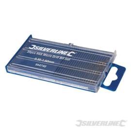 20-delige HSS micro boor set